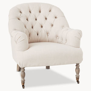 St James Upholstered Cream Occasional Chair