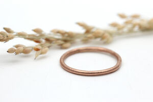 9ct Rose Gold Slim Wedding Ring
