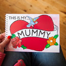 This Is My Mummy Children's Memory Book