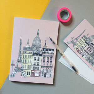 Paris Notebook - scrapbooks & sketchbooks