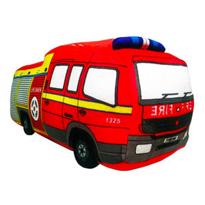 Fire Engine 3D Soft Toy Cushion - baby's room