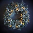 Light Up Mistletoe Wreath