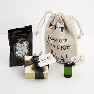 Secret Santa Hangover Rescue Kit - tea & infusions
