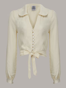 1940's Vintage Inspired 'Clarice' Blouse - blouses
