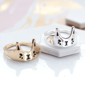 Cute Cat Ring - stocking fillers