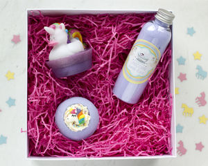 Unicorn Bath Gift Set - bath & body