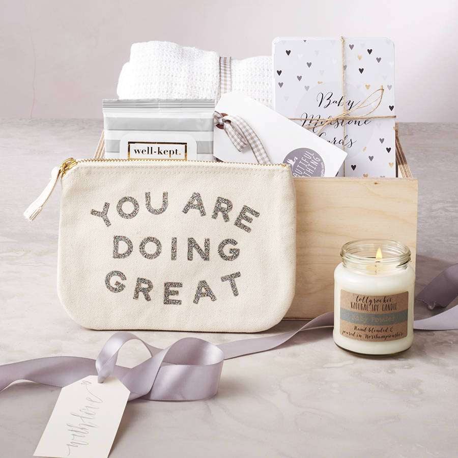 New Mum And Baby Gift Box By Emilie Rose