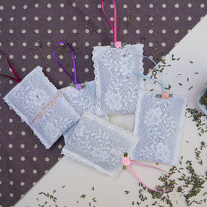 Lace Lavender Sachet - hanging decorations