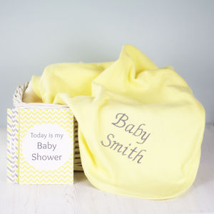 Baby Shower Gift Set For Baby Milestone Events