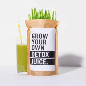Grow Your Own Wheatgrass Detox Juice - Juices