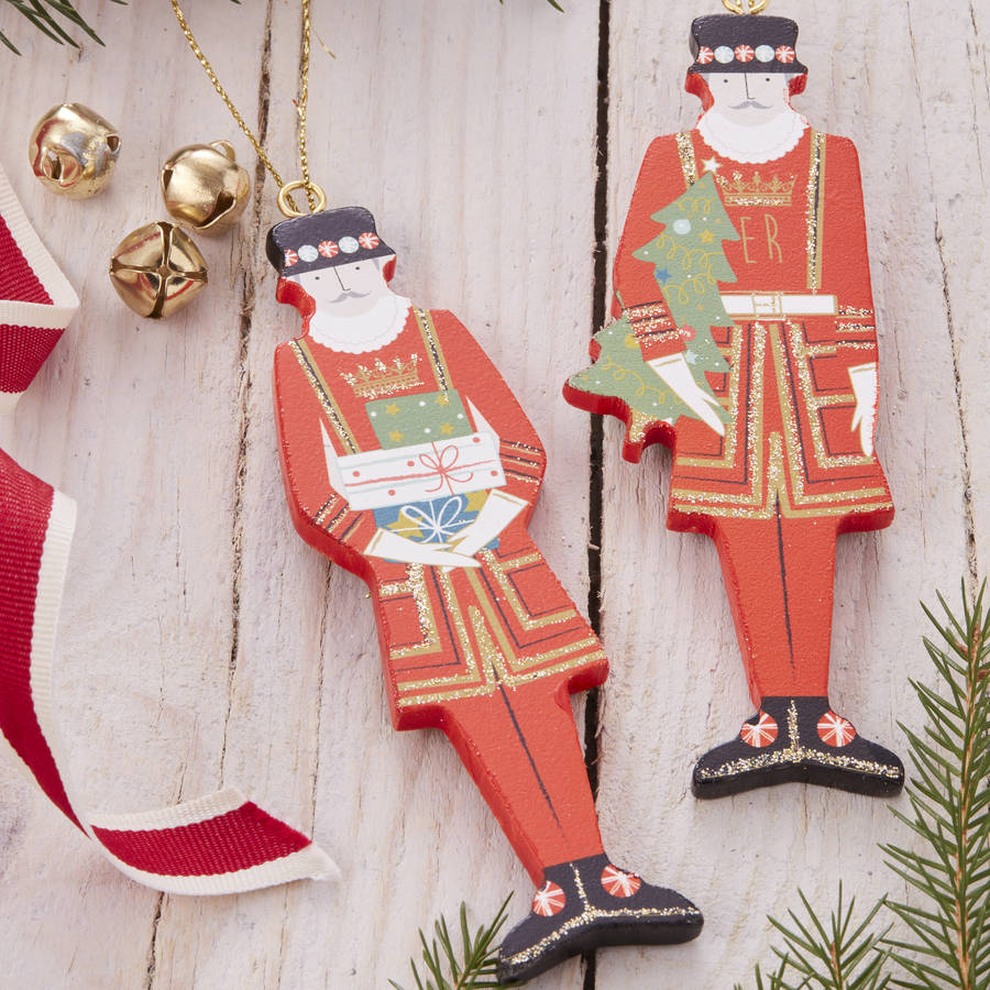Beefeater Christmas Decorations