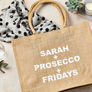 Personalised Favourite Things Shopping Bag