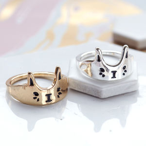 Cute Cat Ring - stocking fillers for her