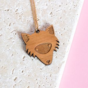 Fox Necklace - necklaces & pendants
