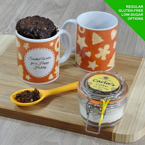 'Happy Holiday' Mug Cake Kit - baking