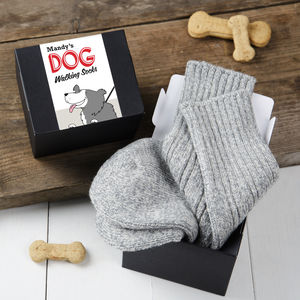 Personalised Dog Walking Gift Socks - walking accessories