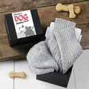 Personalised Dog Walking Gift Socks