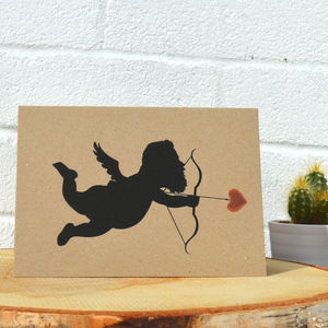 Bearded Cupid Card UK Made