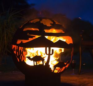 Desert Fire Globe - fire pits & outdoor heating