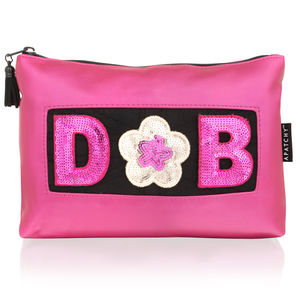 Personalised Beauty Bag - make-up & wash bags