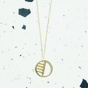Eclipse Pendant Necklace - new in jewellery