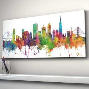 San Francisco Skyline Cityscape - architecture & buildings