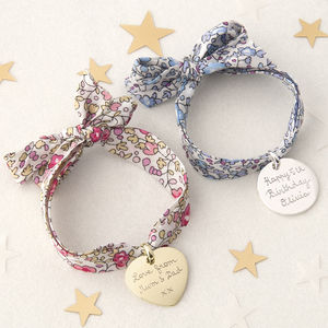 Children's Personalised Liberty Charm Bracelet - children's accessories