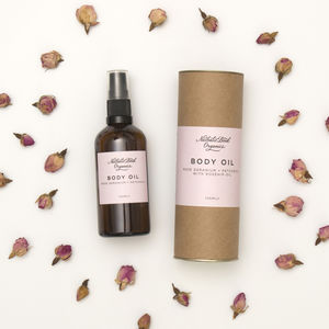 Rose And Patchouli Body Oil - skin care