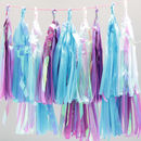 Iridescent Tassel Party Garland