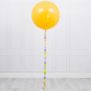 Easter Giant Circle Tail Balloon
