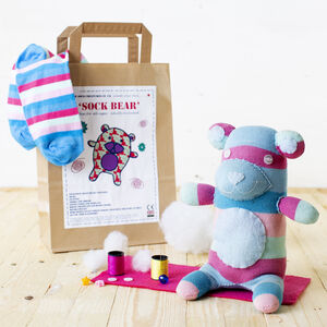 Sock Bear Craft Kit