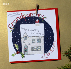 Grandparents Christmas Card - cards & wrap