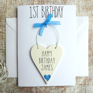 Baby Boy's 1st Birthday Card