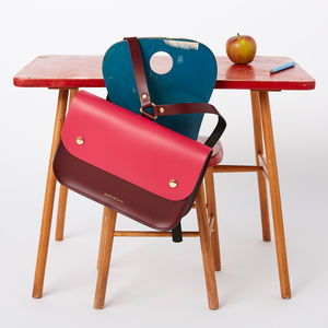 Colour Block Ellison Satchel Backpack