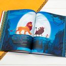 Personalised The Lion King Collection Book