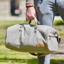 Overcast Grey Arnold Canvas Duffle Bag