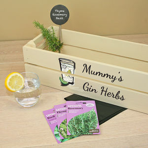 Personalised Gin Garden - drinks connoisseur