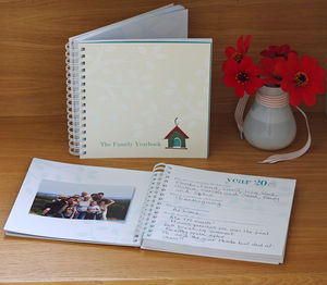 Memory Book For Family Celebrations