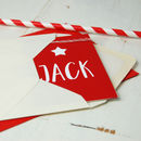 Personalised Bunting Any Age Birthday Card