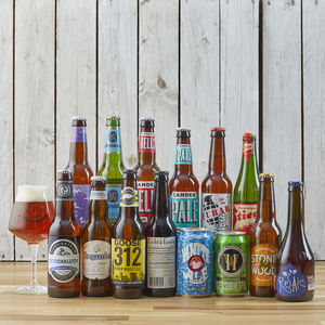 14 Award Winning Beers Of The World And Glass Gift Idea - for him
