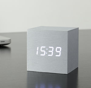 Cube Click Clock - living room