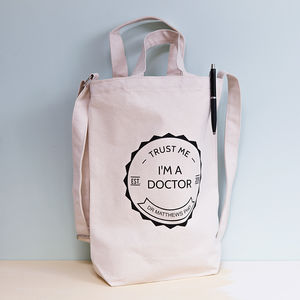 'Trust Me, I'm A Doctor' Ph D Student Tote Bag