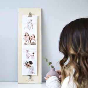 Personalised Baby Giant Photo Strip - baby's room