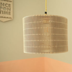 Large Drum Lampshade - lampshades