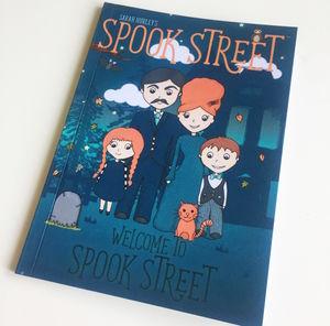 Sarah Hurley's Spook Street - books