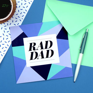 Rad Dad Card - view all father's day gifts