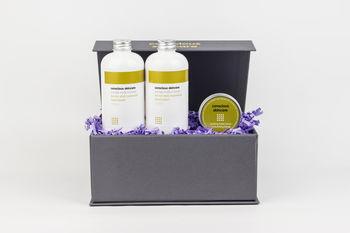 Organic Hair Treatment Gift Set