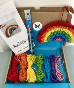 Rainbow Decoration Crochet Kit