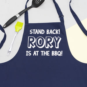 Personalised Bbq Apron - picnics & barbecues