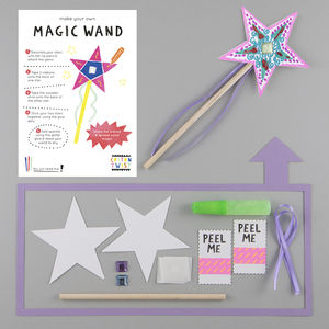 Make Your Own Magic Wand Kit - party bags and ideas